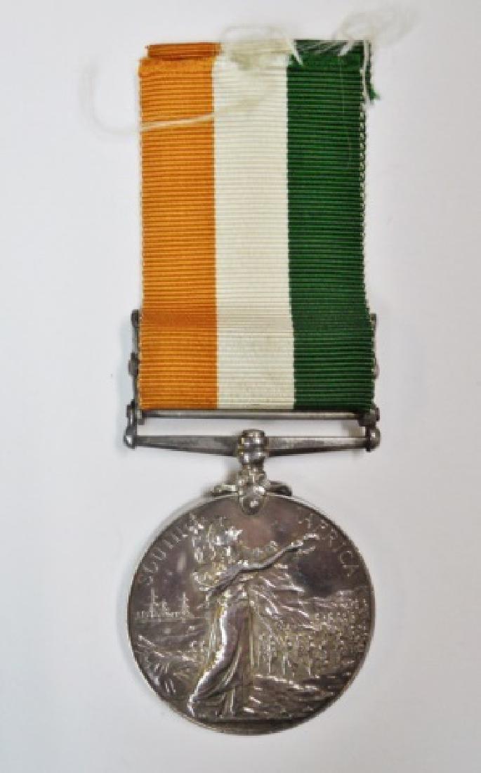 British Boer War King, Queen's Medals, Named (2pc) - 7