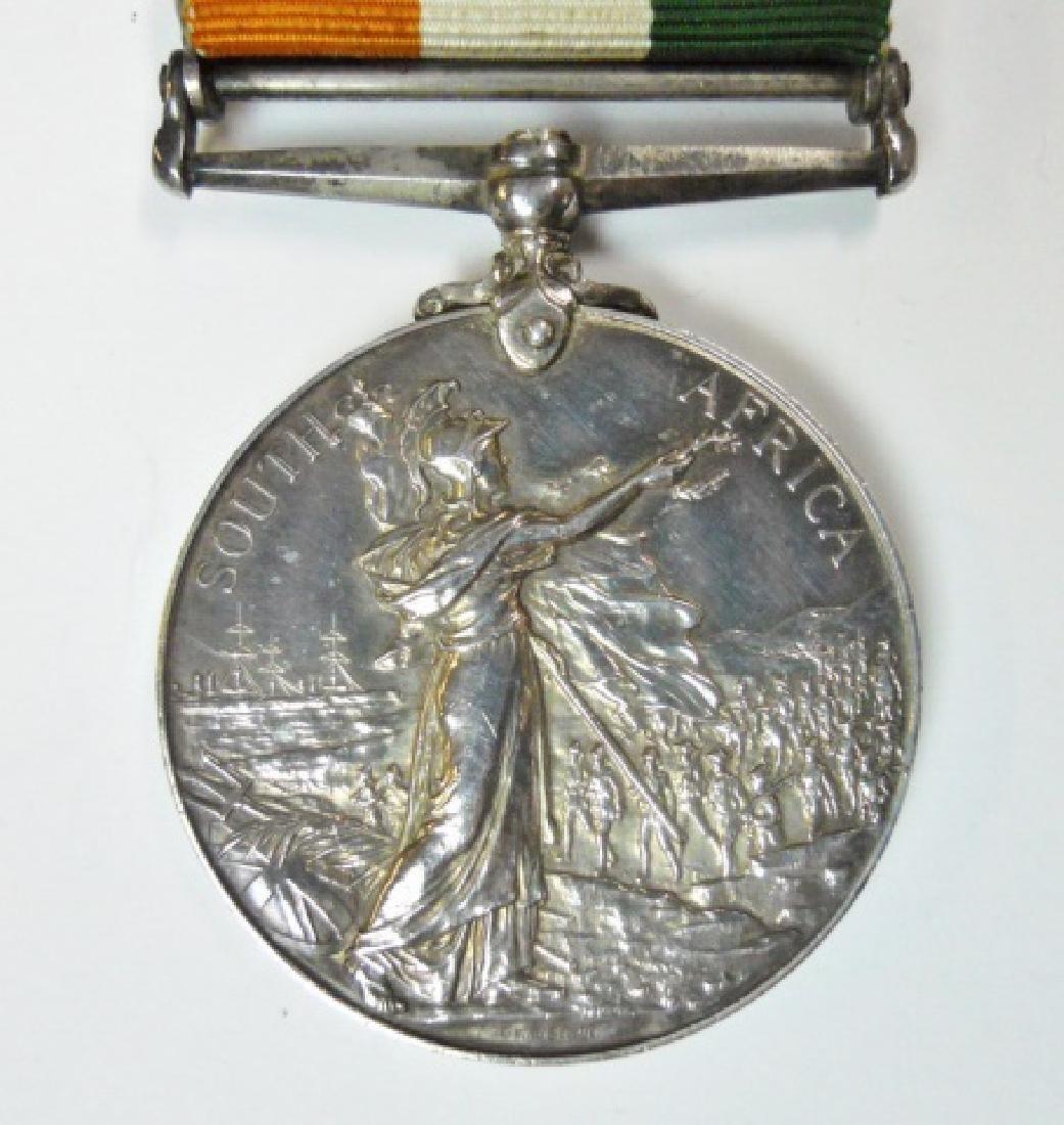 British Boer War King, Queen's Medals, Named (2pc) - 9