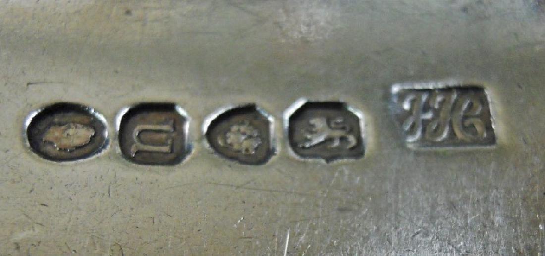 English Sterling Silver Flatware 1802-1840, (22pc) - 6