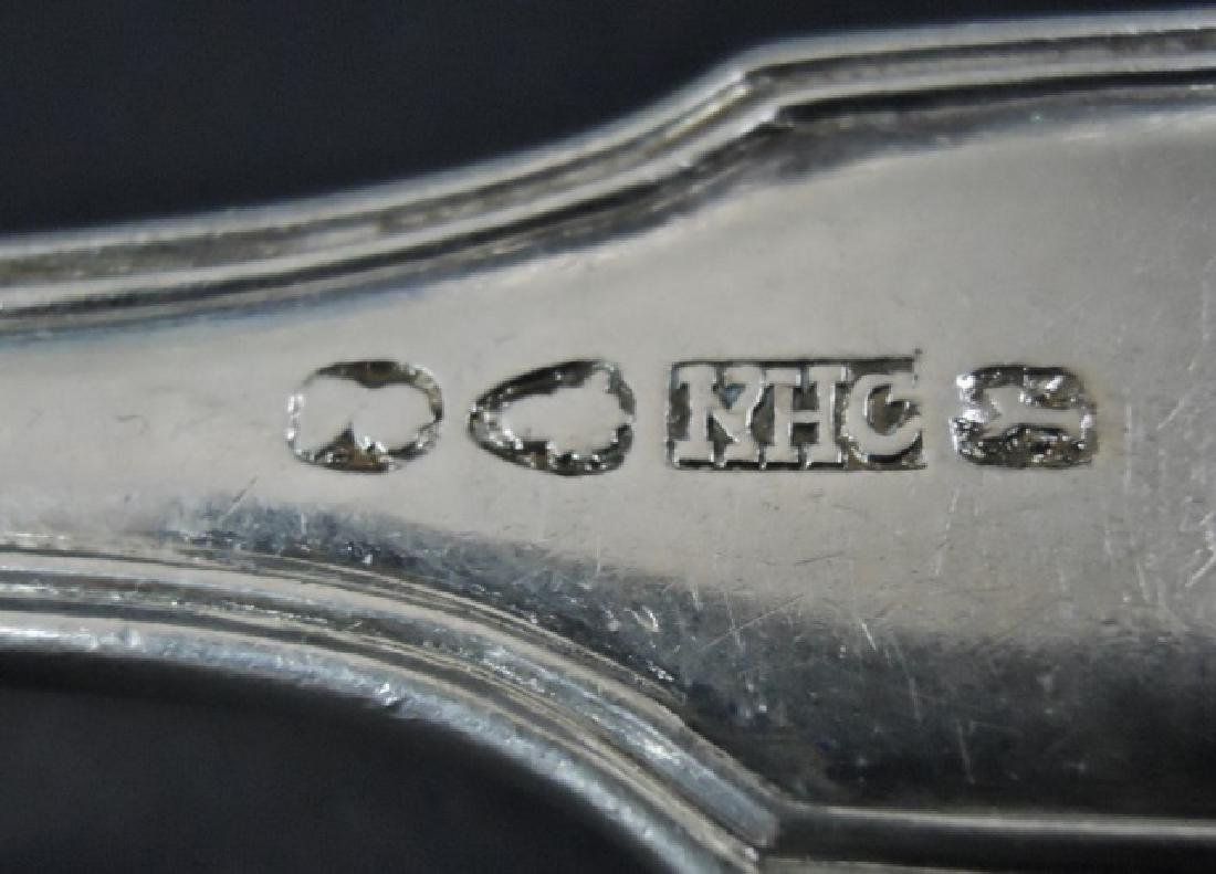 English Sterling Silver Flatware 1802-1840, (22pc) - 7