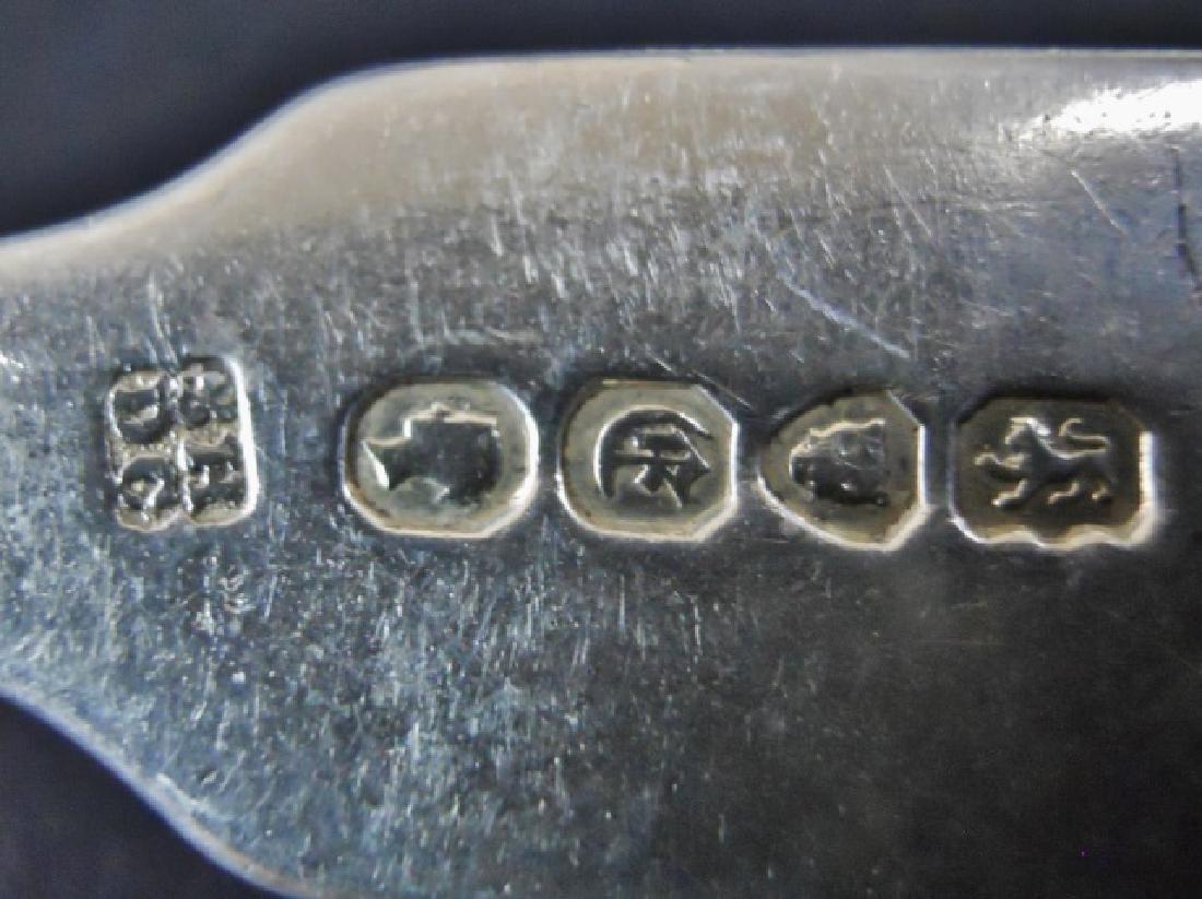 English Sterling Silver Flatware 1802-1840, (22pc) - 8