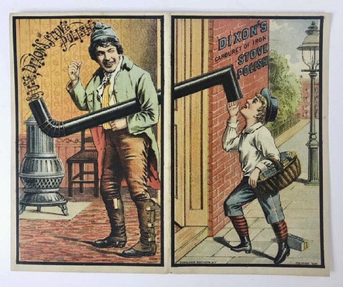 Trade Cards, Catalogs, Advertising Stoves, (155pc) - 5