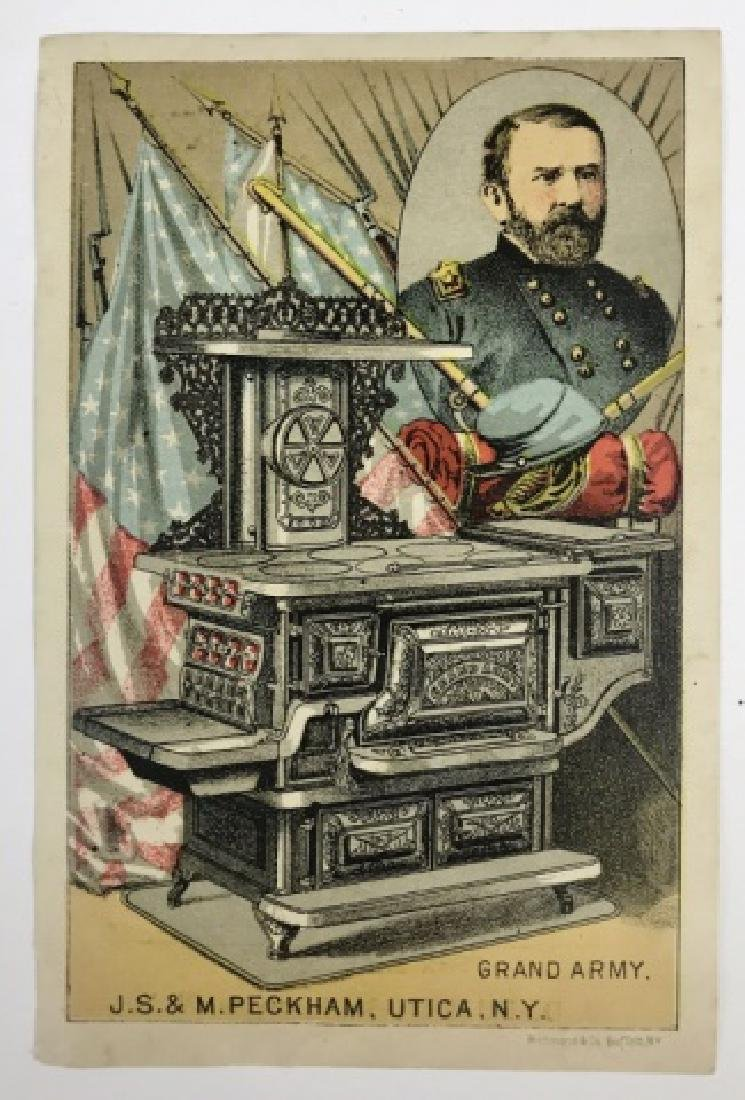 Trade Cards, Catalogs, Advertising Stoves, (155pc) - 8