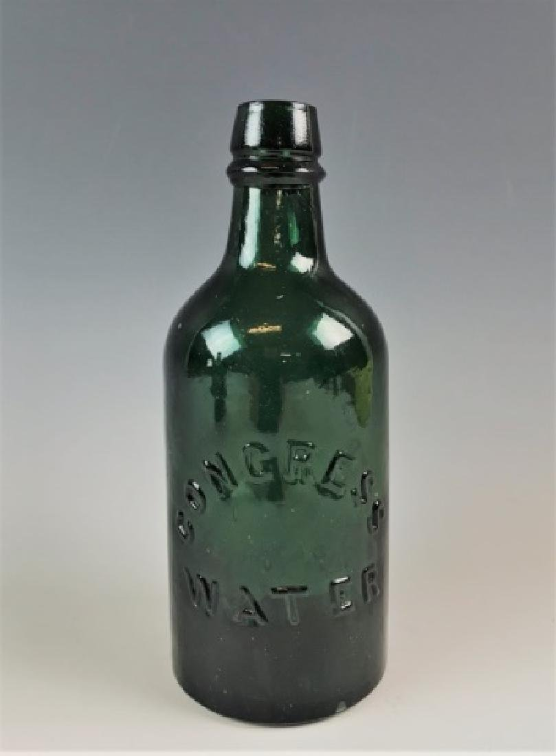19th C Bottles Congress Water Empire Springs (2pc) - 5