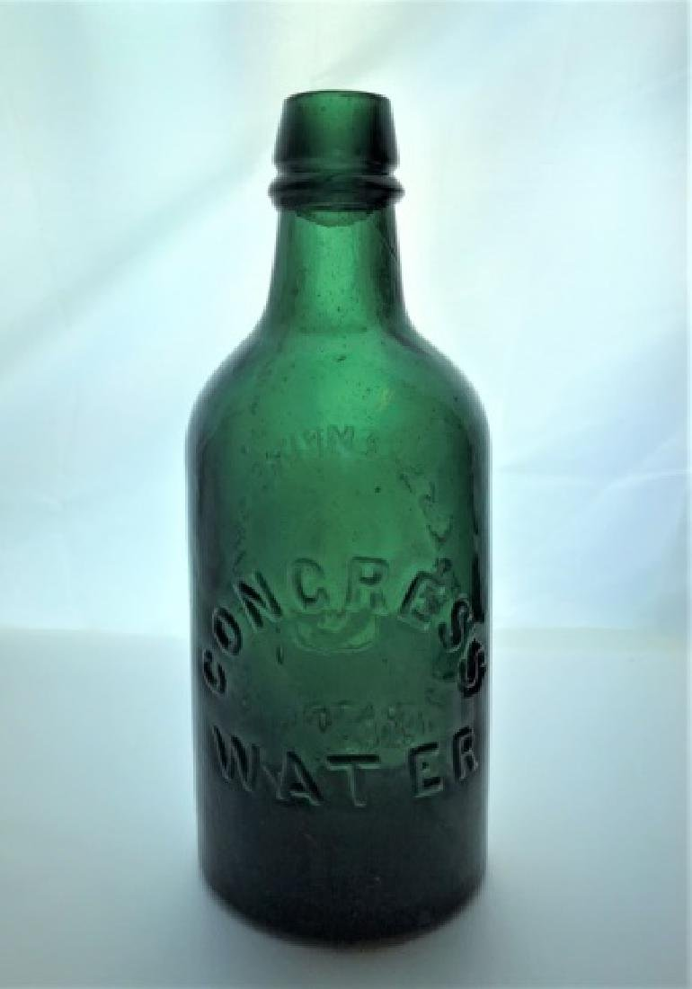 19th C Bottles Congress Water Empire Springs (2pc) - 9