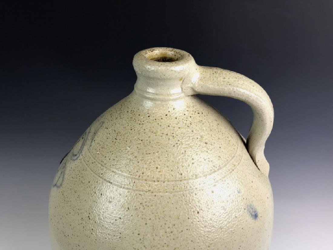 Large Antique Eight Gallon Stoneware Jug - 4