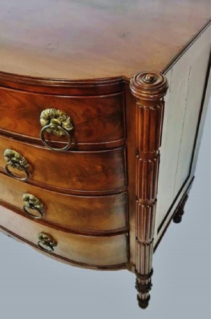 Period Sheraton Mahogany Chest of Drawers - 2
