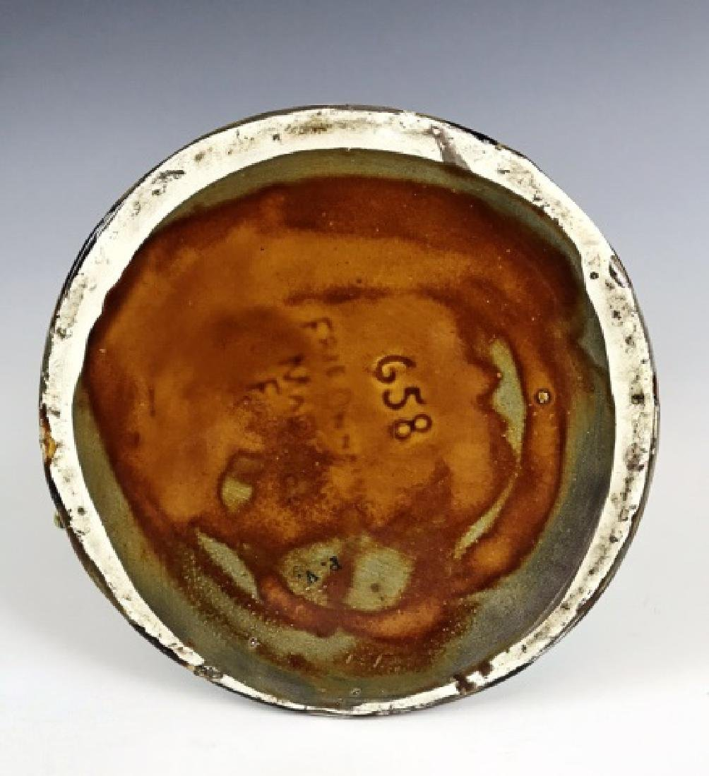Antique French Majolica Glazed Pitcher - 5