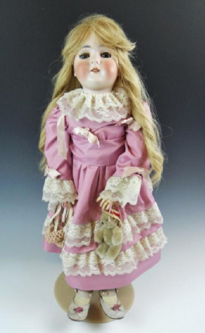 Armand Marseilles, German Bisque Queen Louise Doll