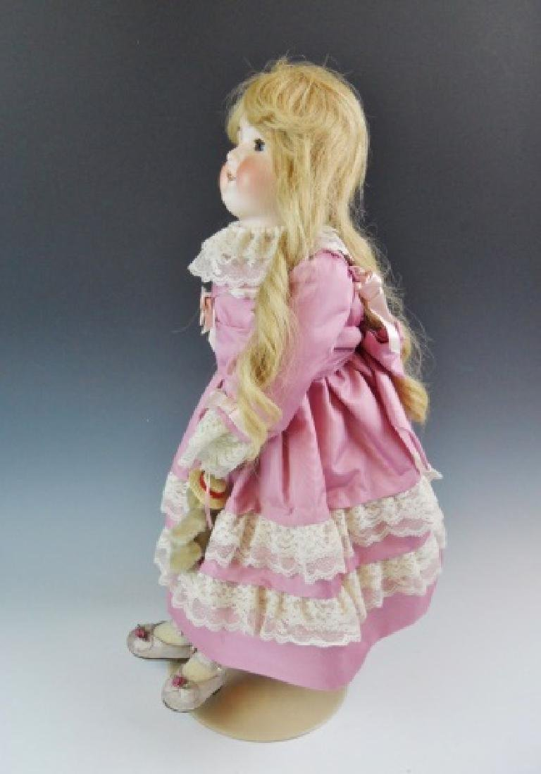 Armand Marseilles, German Bisque Queen Louise Doll - 3