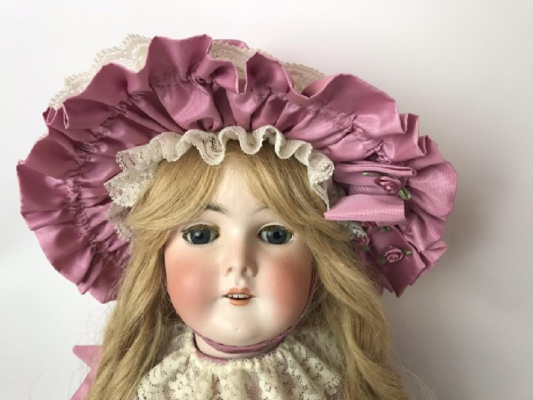 Armand Marseilles, German Bisque Queen Louise Doll - 4