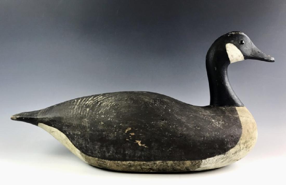 Carved Wood Goose Decoy, Joe Lincoln