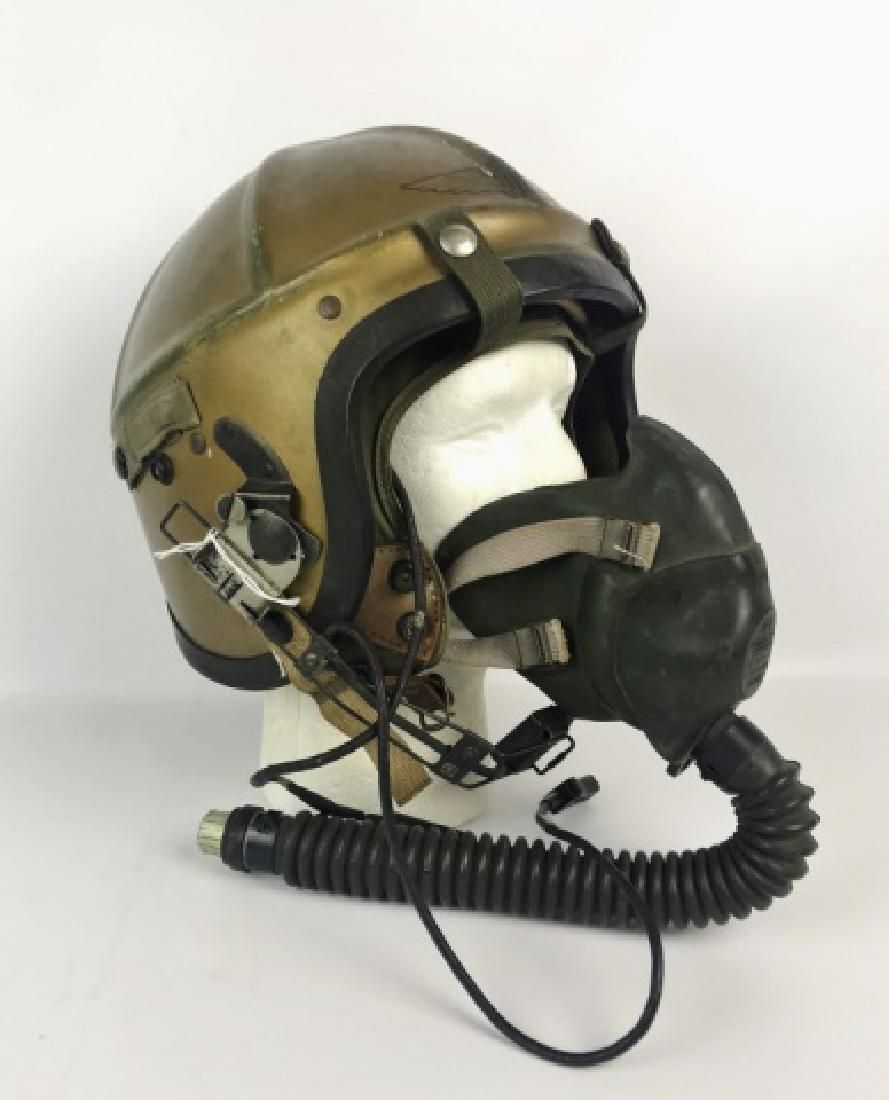 Korean War US Navy H-4 Aviation Helmet, Gentex
