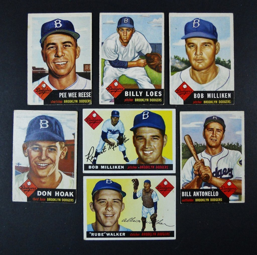 Collection, 1910's -1970's Baseball Cards, (29 pc) - 4