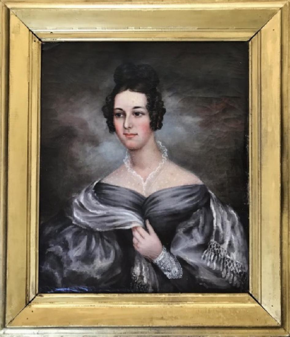 19th C. New England Portrait, Lyman Allyn Museum