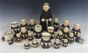 Goebel Friar Tuck Collection 19pc