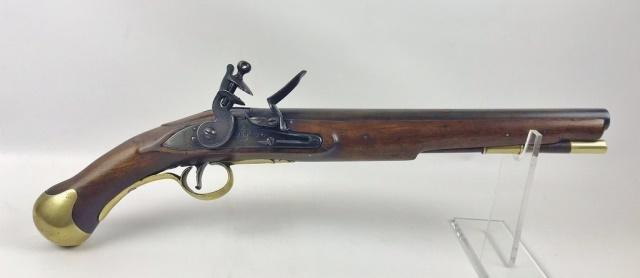 British Navy Flintlock Pistol Dated 1806, Tower