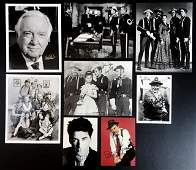 Collection of Autographed Celebrity Photos 8pc