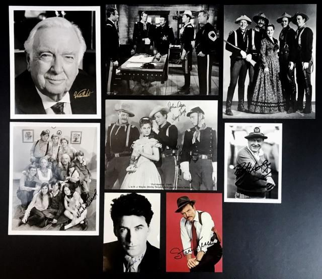 Collection of Autographed Celebrity Photos (8pc)