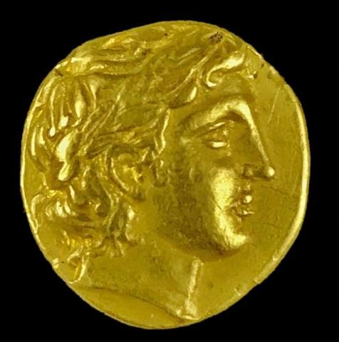 Greek Gold Stater, Phillip II Macedon (340-328 BC)