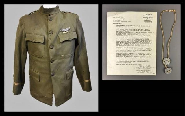 WW1 US Air Service Tunic, Dog Tags (4pc)