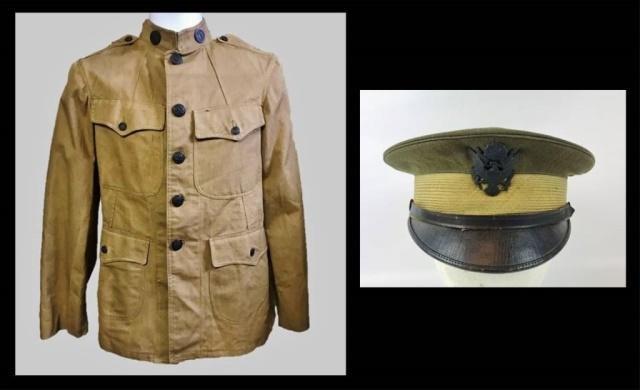 WW1 US Army New York  Uniform and Visor Cap (2pc)