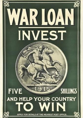 WW1 British War Loan Poster