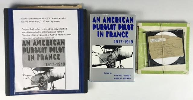 WW1 US Taped Interview With WWI Pilot (7pc)
