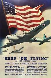 WW2 US Army Air Corps Recruiting Poster