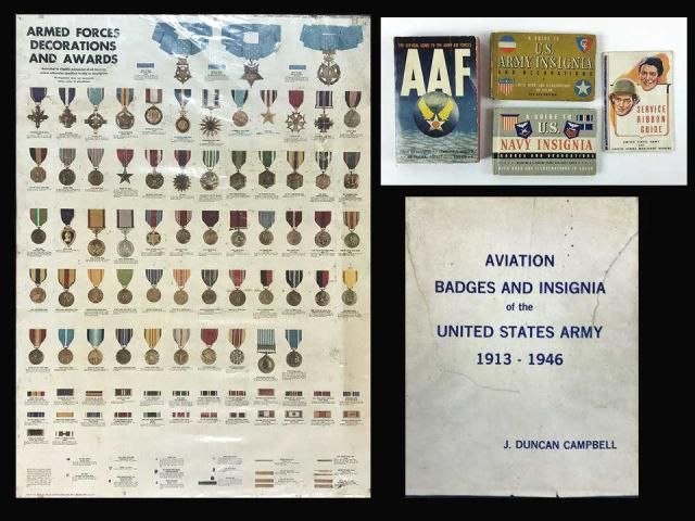 Collection, US Medals Awards Books, Poster (6pc)