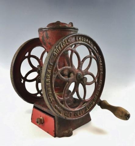 Antique Coffee Grinder, Suffolk Iron Foundry