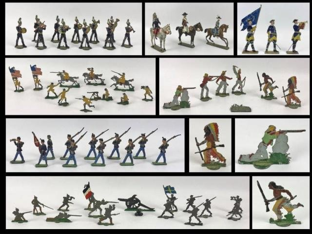 Collection, Early 20th C. Toy Soldiers, (95pc)