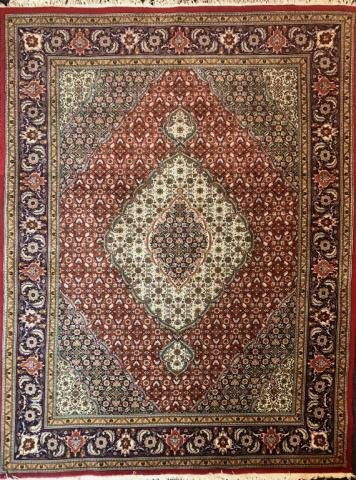 Hand Loomed Persian Tabriz Carpet