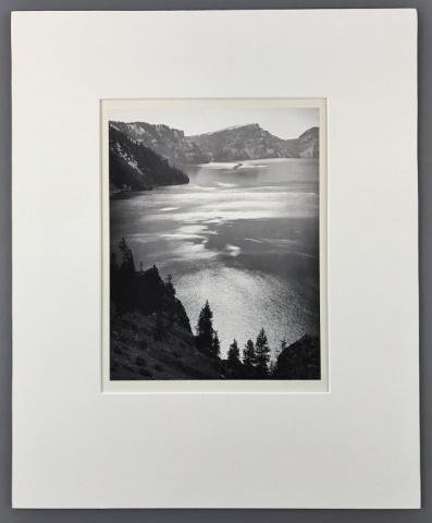 Studio Photograph, Signed, Ansel Adams, 1950 Dated