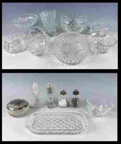 Collection, Irish Crystal , Waterford (15pc)