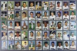 Collection, 1951 Bowman Baseball Cards, (67pc)