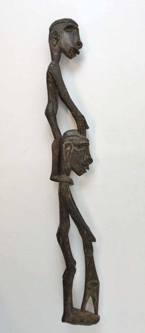 New Guinea Native Asmat Wood Figure Carving