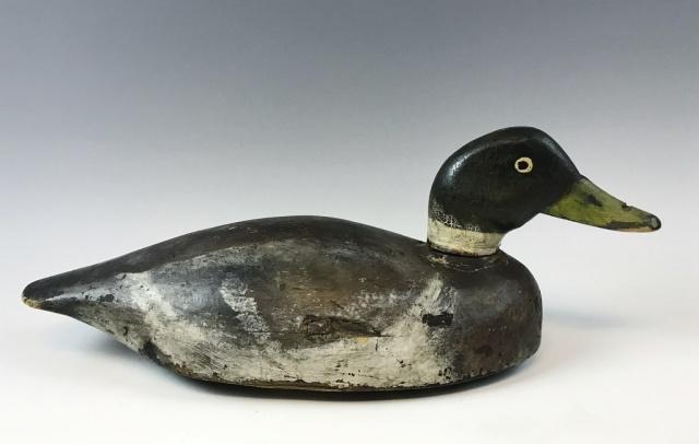 Long Island Mallard Drake Duck Decoy