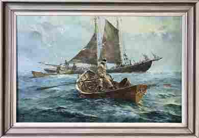 Painting, Oil on Canvas, Jack Lorimer Gray 1927-81