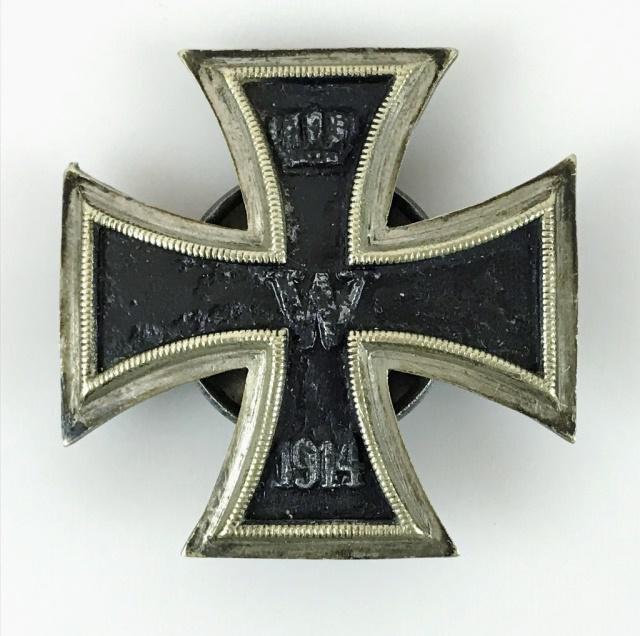 WW1 Imperial German Iron Cross 1st Class