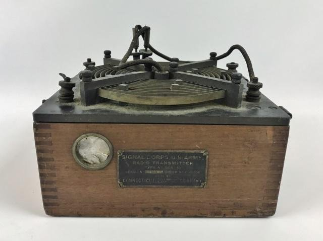 WW1 US Army Signal Corps Radio Transmitter, 1918