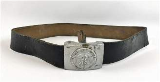 WW2 German Hitler Youth Belt & Buckle