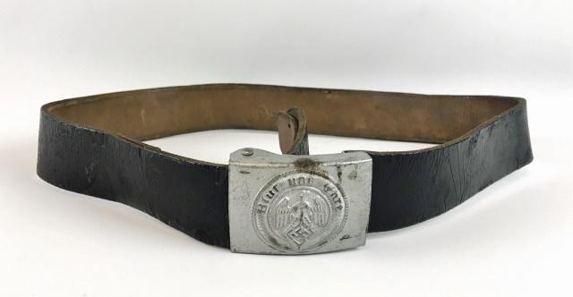 WW2 German Hitler Youth Belt & Buckle