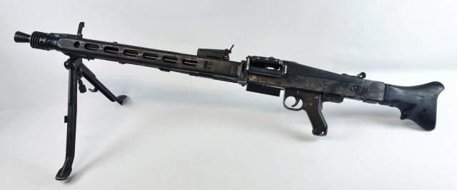 WW2 German MG42 Machine Gun, Inert Dummy Receiver