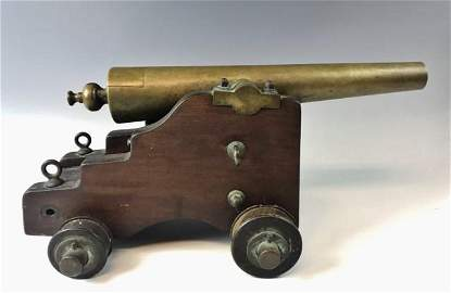 19th C Signal Cannon, Strong Cannon MFG, New Haven