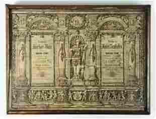 Antique German Architectural Game, Anchor Box