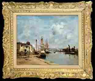 Painting, Oil on Canvas, M. Massard 1889