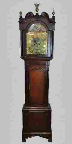 18th C. English Tall Clock, R. FLETCHER, Chester