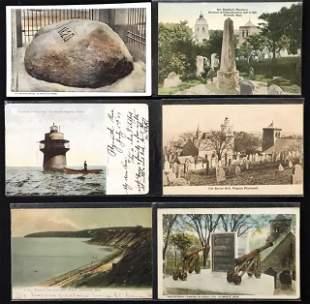 Plymouth, Massachusetts Postcards (550+)
