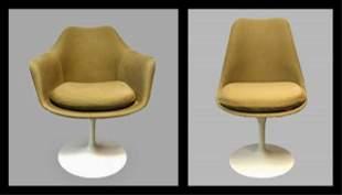 Mid Century Modern Tulip Chairs, Knoll, (8pc)